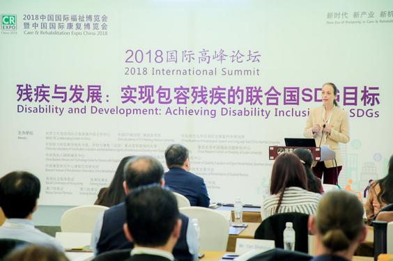 The 2018 International Summit on Disability and Development co-sponsored by our school ended successfully