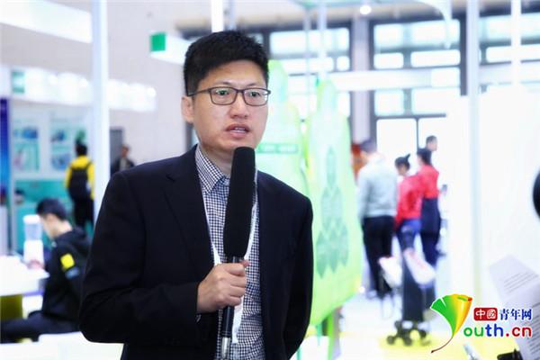 中国残疾人辅助器具中心产业促进办公室主任张红涛接
